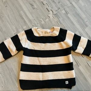 Zara knit striped sweater